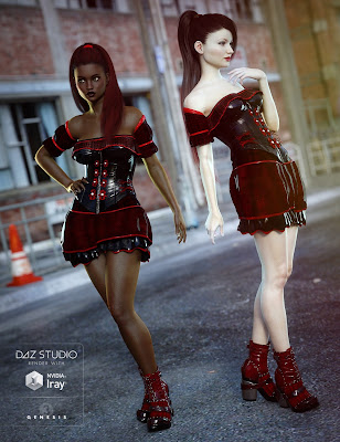 Gothic Punk for Genesis 3 Female(s)