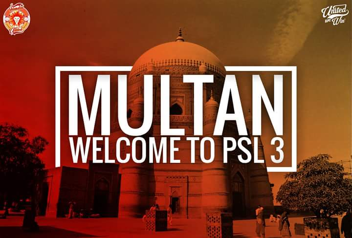 Multan is the 6th Team for PSL 2018