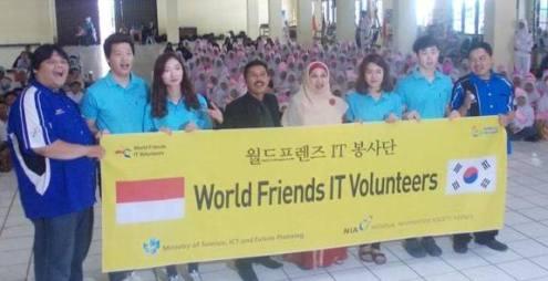 Bersama Relawan TIK Korea