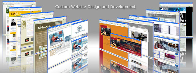 Custom web design vs template design