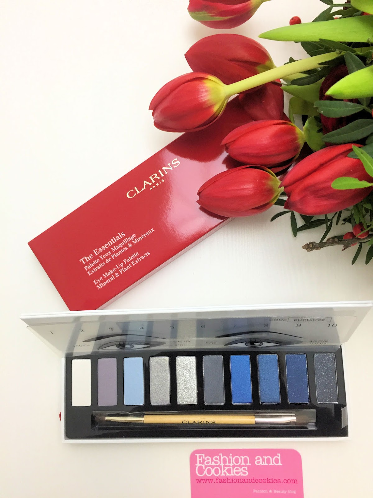 Makeup feste natalizie: palette occhi Clarins The Essentials su Fashion and Cookies beauty blog, beauty blogger