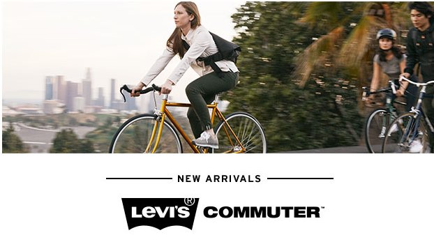 Levi's Commuter Clothing