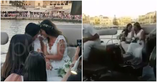 Gαy γάμος στα Χανιά: Δύο νεαρές γυναίκες παντρεύτηκαν ντυμένες στα λευκά