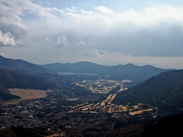 金時山山頂 仙石原 芦ノ湖