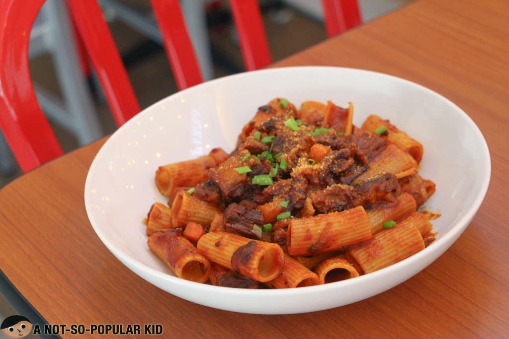 The Beef Stew Pasta of Mad for Pizza