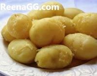 आलू उबालने का तरीका माइक्रोवेव में - Boiled Potato In Microwave