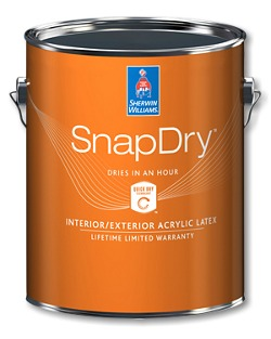 snapdry paint for doors
