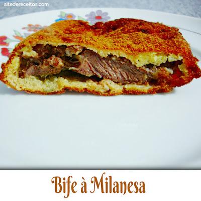 Bife à milanesa 2