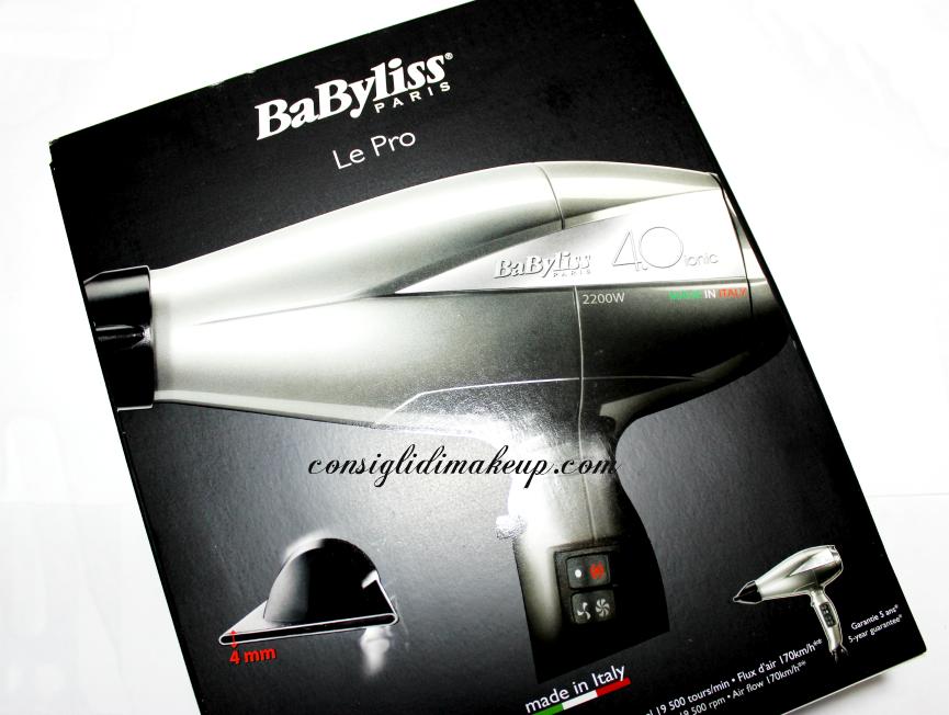 Babyliss 6670e Pro 2200 W Asciugacapelli asciugacapelli