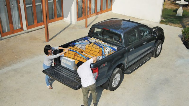 Cố định hàng hóa trên thùng xe