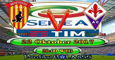 Prediksibola855 Benevento vs Fiorentina 22 Oktober 2017