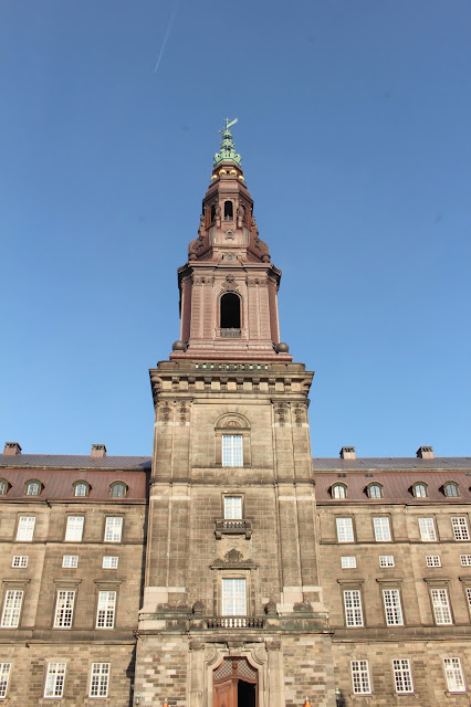 Copenhagen Christiansborg Palace Tower View
