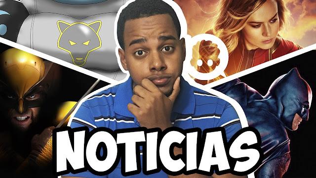 Wolfo nuevo cómic, ¿wolverine en el mcu?, aquaman , the batman......y mas