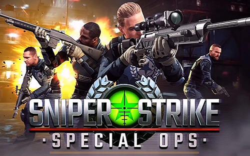    مهكرة للأندرويد من ميديا فاير Frontline Combat Sniper Strike تحميل لعبة 