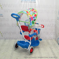 Royal RY2282C Police Baby Tricycle