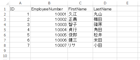【Excel】CSVファイルからデータを取得してシートに表示する ...