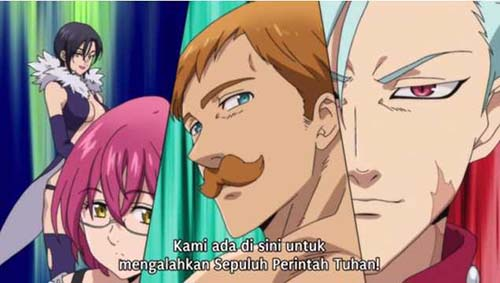 Nanatsu no Taizai Season 3 Episode 1 Subtitle Indonesia - KuroGaze