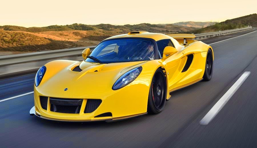 世界一高い価格の高級車 ヘネシーヴェノムGT