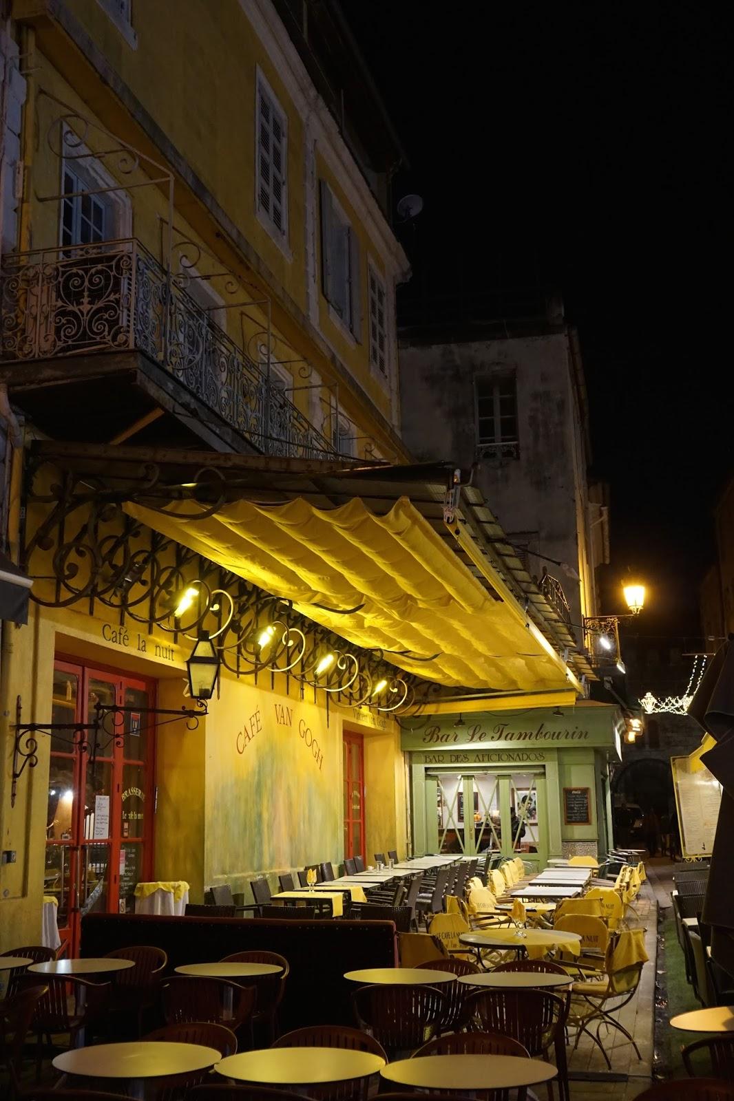 Van Gogh Cafe(夜のカフェテラス)