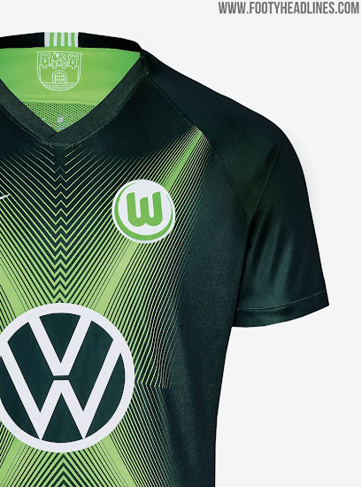 various colors 660f7 56618 New VW Logo: Nike Wolfsburg 19-20 Home & Away Kits Released ...