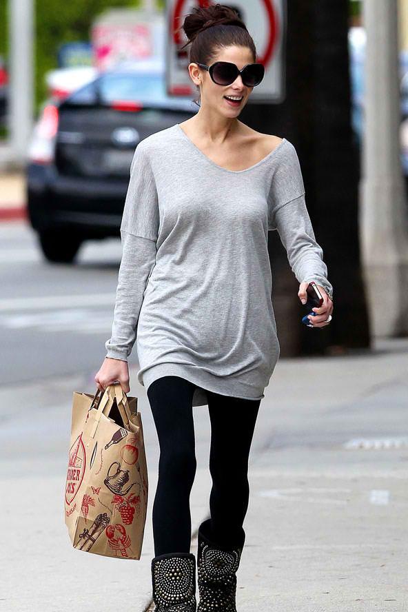 The Street Style Girl Street Style Ashley Greene