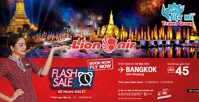 Thai Lion Air Hà Nội đi Bangkok
