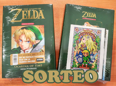 "Gana un manga de ""The Legend of ZELDA Perfect Edition"". @normaeditorial"