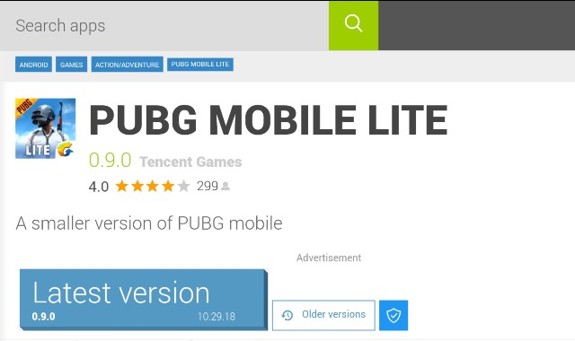 download pubg lite