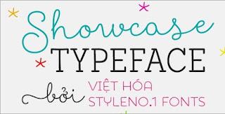 SVN-Showcase Typeface