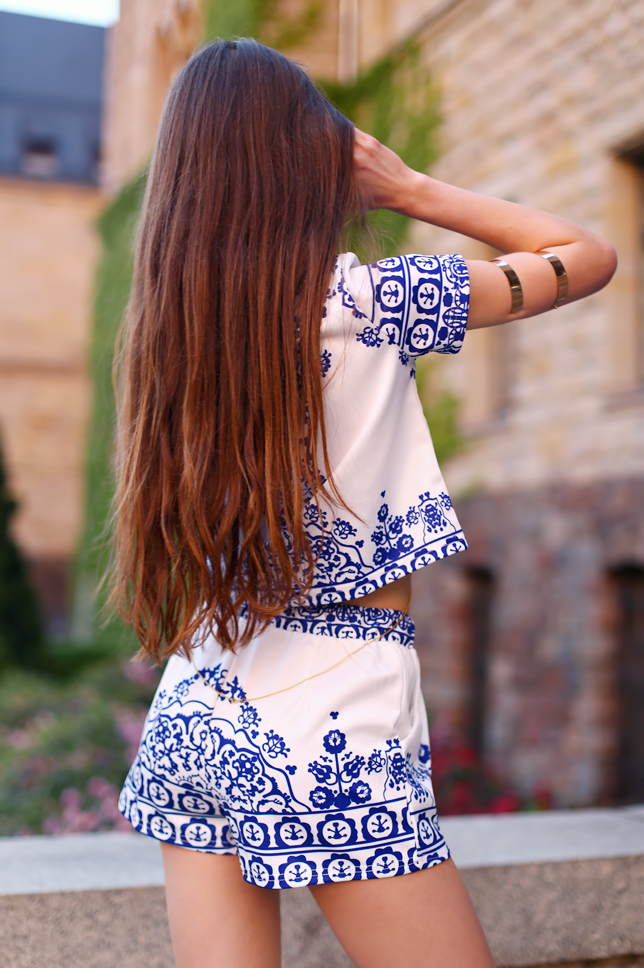 long brown hair natural back