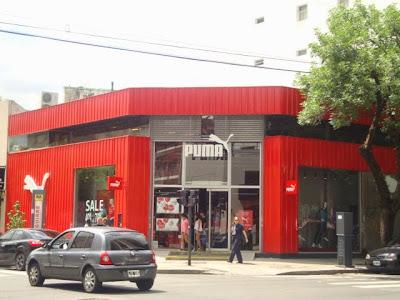 Loja da Puma em Buenos Aires