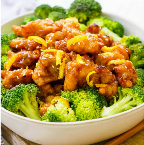 Chinese Orange Chicken #healthyrecipe #whole30