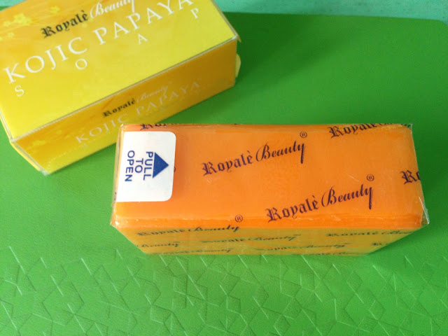 Royale Kojic Papaya Soap Review