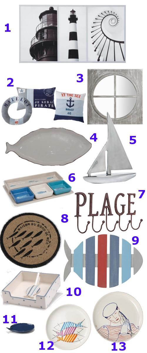 Voyage en bord de mer lady breizh les tribulations d 39 une bigoud ne blog lifestyle - Deco bord de mer maison du monde ...