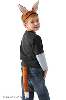 Fox Ears and Tail Kids Costume from Theatrical Threads