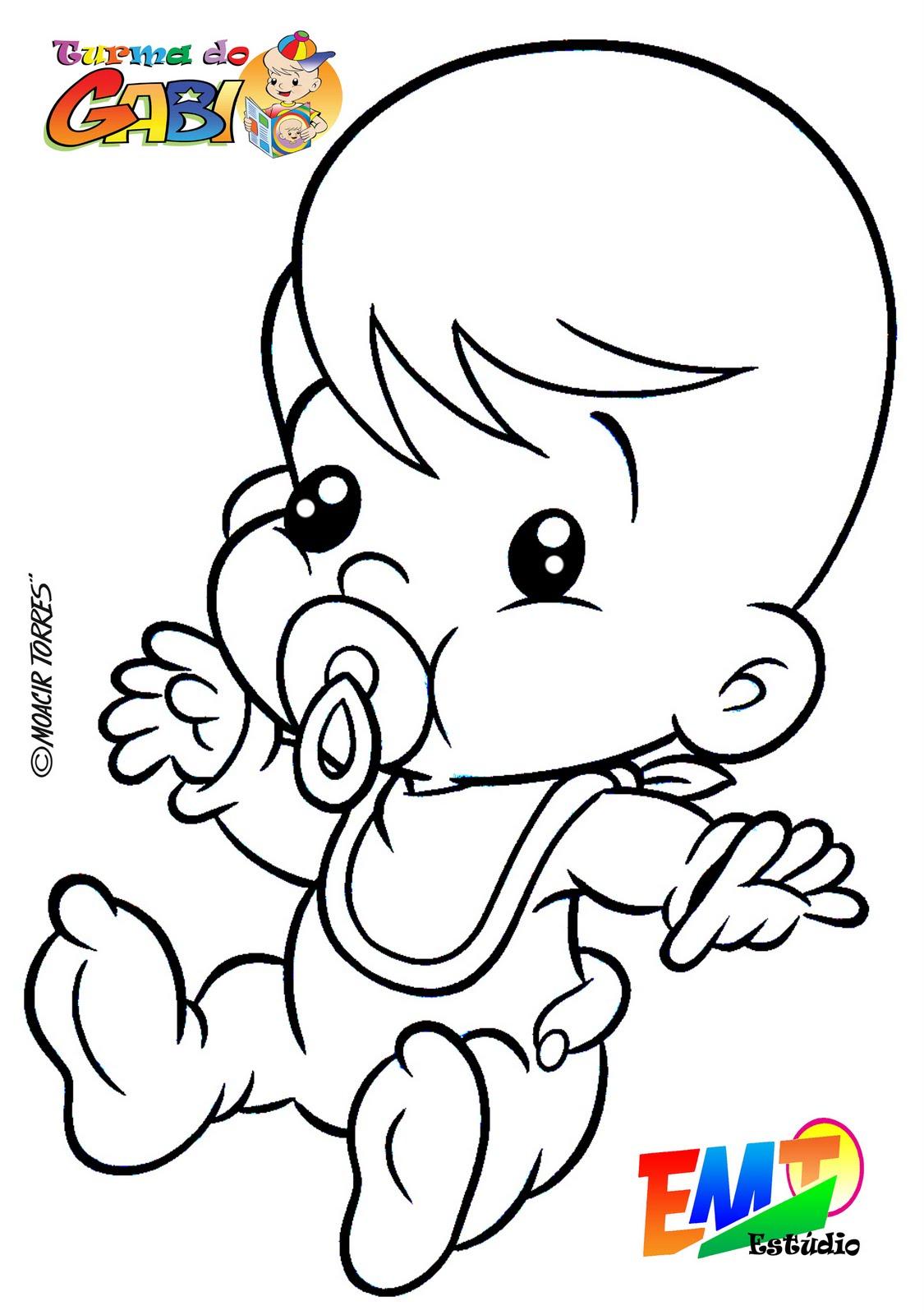 Desenhos De Bebes Para Colorir Escolinha Da Lucia