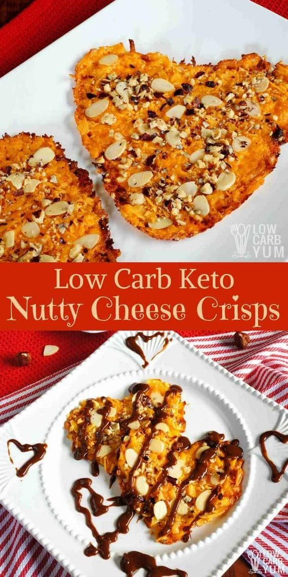 LOW CARB/KETO-Nutty Oven Baked Cheese Crisps