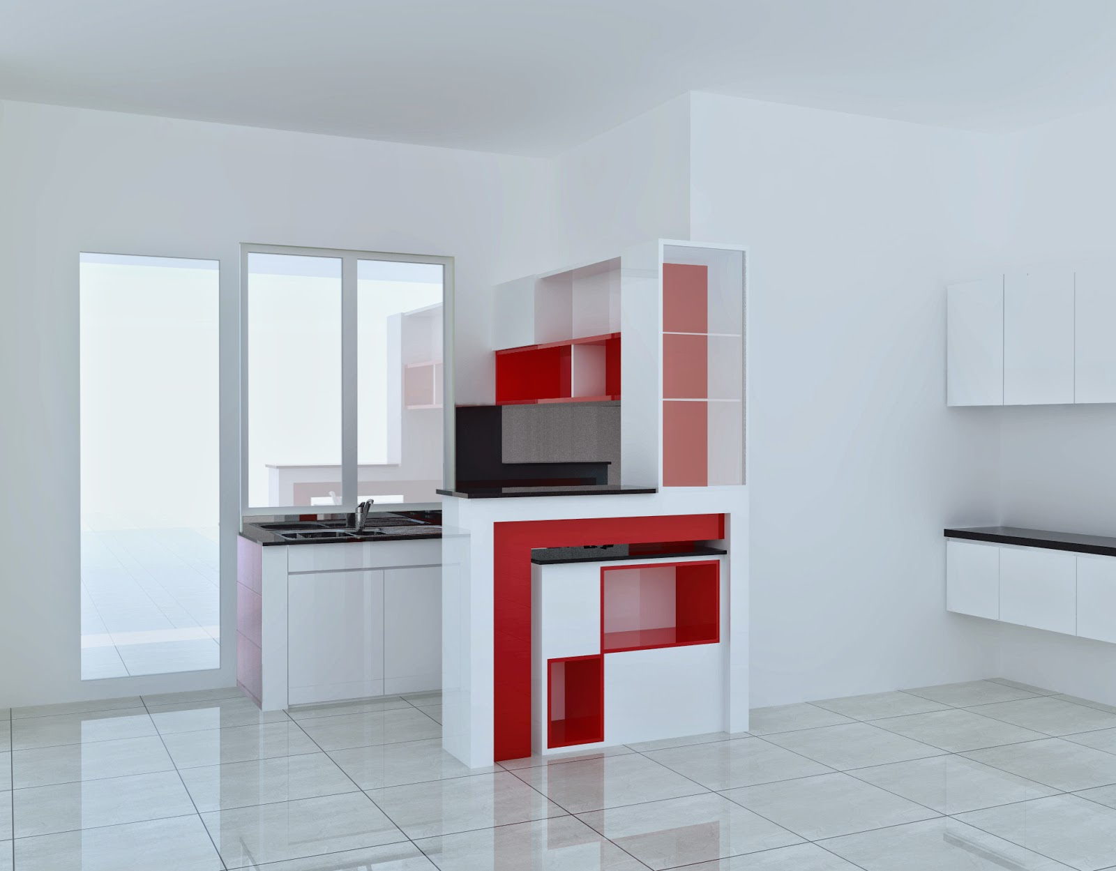 Vẽ 1 tủ bếp - draw kitchen cabinet -furniture using sketchup - Trung