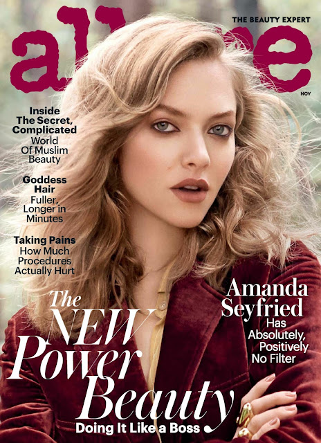 Actress, Singer, Model, @ Amanda Seyfried - Allure US November 2016
