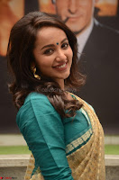 Tejaswi Madivada looks super cute in Saree at V care fund raising event COLORS ~  Exclusive 065.JPG
