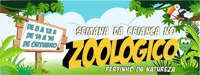 Parque Estadual de Dois Irmãos dia das crianças no zoológico