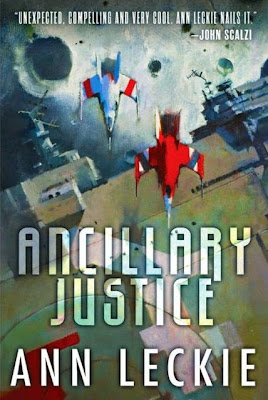 Ancillary Justice by Ann Leckie - book cover