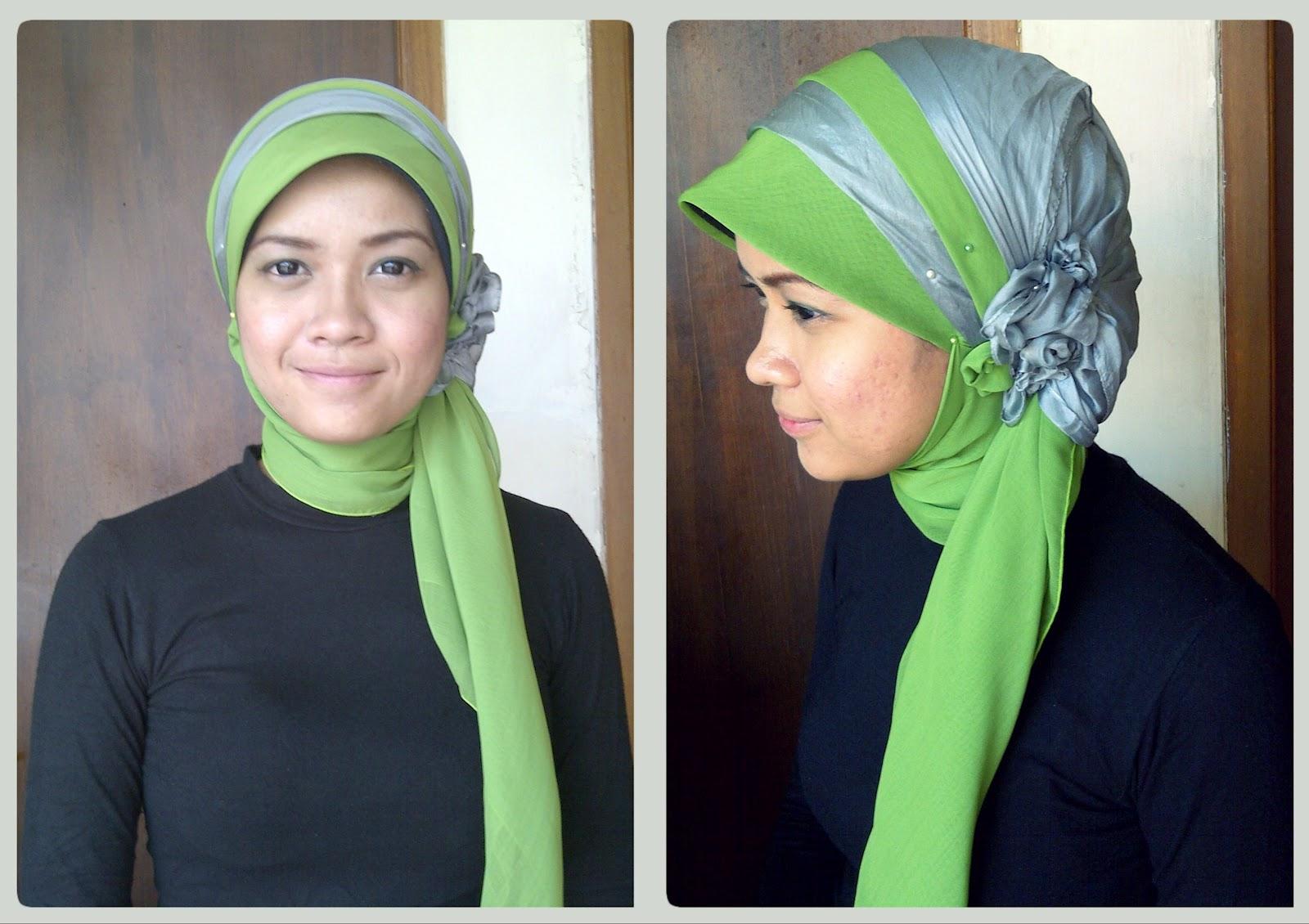 gambar tutorial hijab topi | tutorial hijab