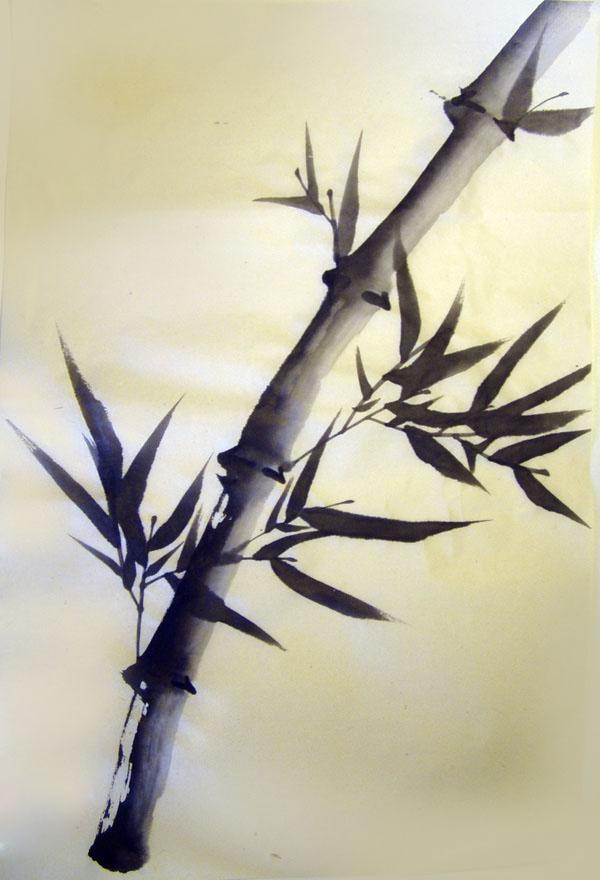 bamboo drawing - photo #2