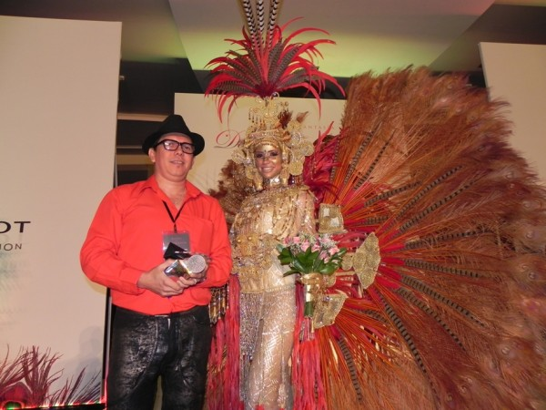 Results of The Best Costume Competition for Miss Universe 2011