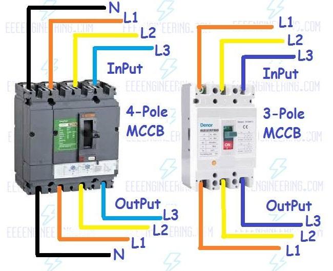 Mccb Mcb Wiring Diagram - WIRE Center •