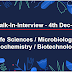 Walk-In-Interview - 4th Dec. 2017 | Life Sciences / Microbiology / Biochemistry / Biotechnology