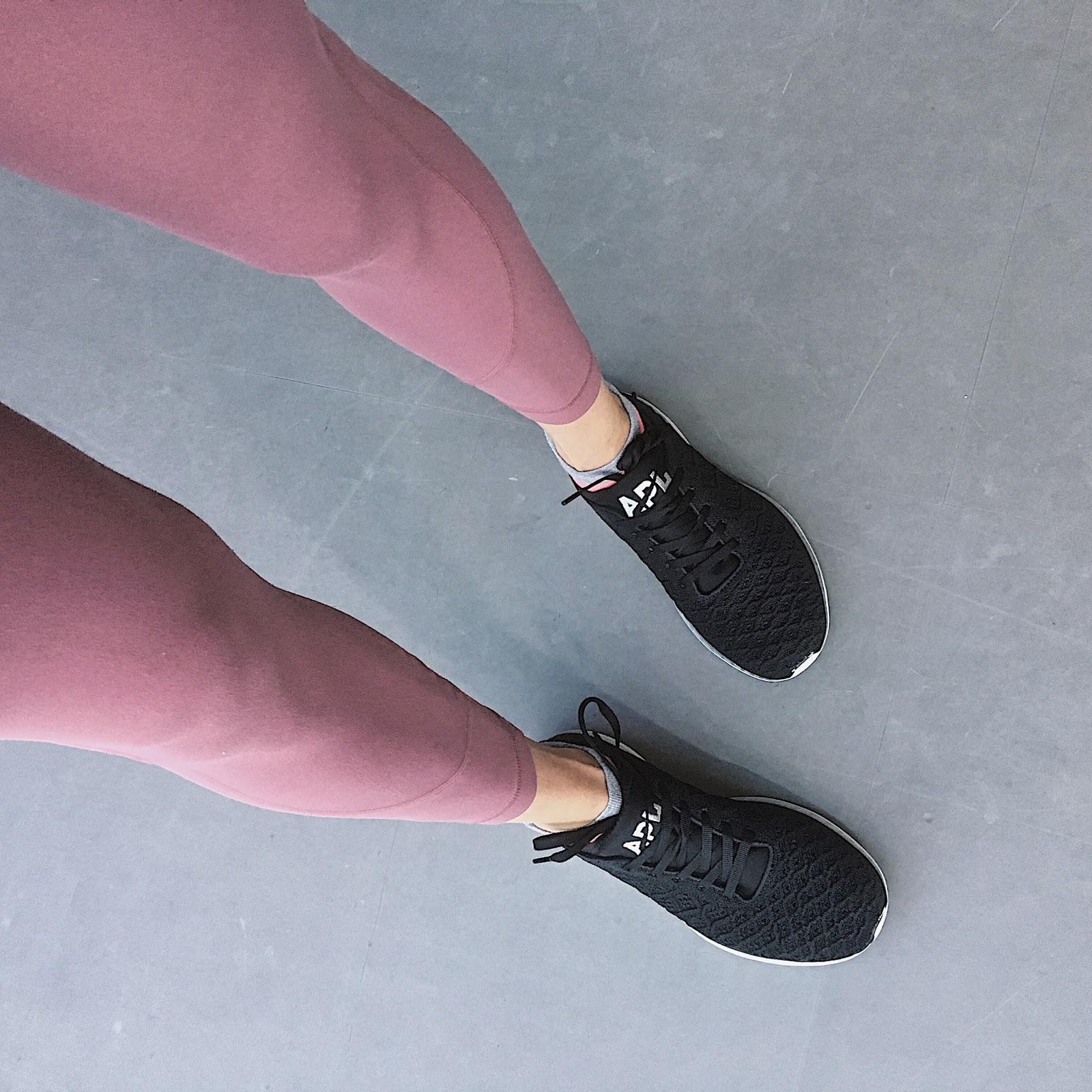 black apl sneakers