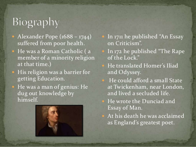alexander pope essay on criticism sparknotes Essay-on-criticism page an essay on criticism alexander pope 'tis hard to say, if greater want of skill essay-on-criticism essay-on-man.
