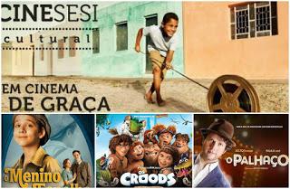 Nos dias 5, 6 e 7 de Junho, Cine Sesi Cultural de volta em Delmiro Gouveia,  na Praça Nossa Senhora do Rosário